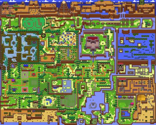 Link's Awakening : Carte de Cocolint