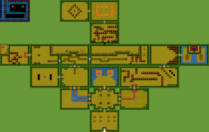 Oracle of Seasons : Carte du donjon 1