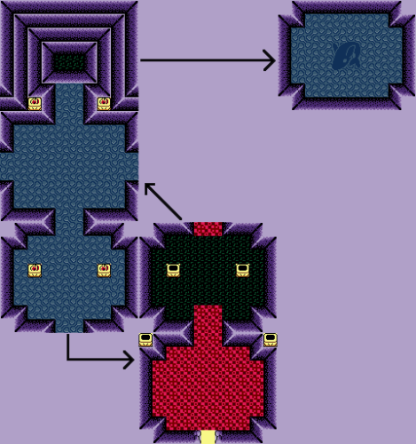 Link's Awakening : Carte de l'oeuf sacré