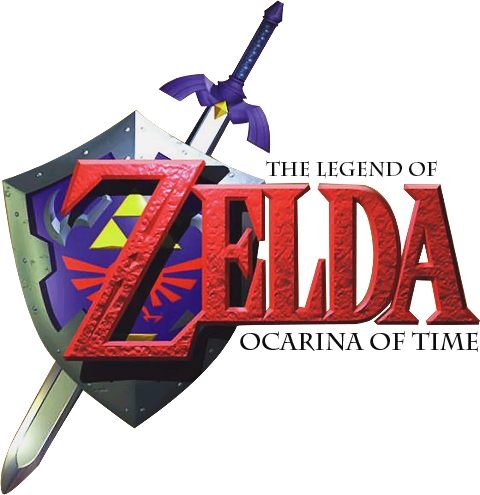 Ocarina of Time : Logo officiel