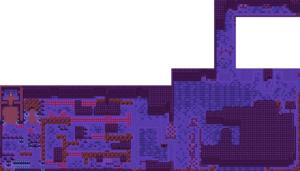 Oracle of Ages : Carte du monde sous-marin - passé