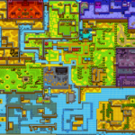 Oracle of Ages : Carte du monde avec Ricky - présent