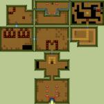 Oracle of Ages : Carte du sentier Bojo - passé