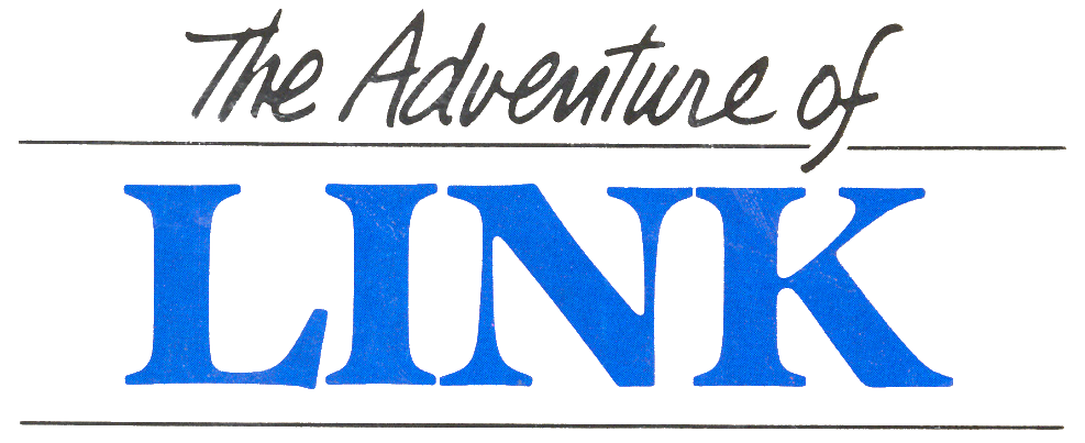 The Adventure of Link : Logo officiel