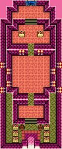Link's Awakening : Carte du temple du sud