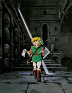 Link's Awakening : Artwork - Dans un donjon