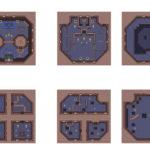 A Link to the Past : Carte de la Tour d'Héra