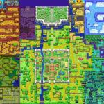 The Minish Cap : Carte du monde extérieur