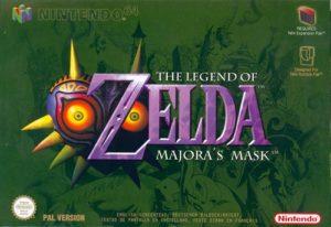 Majora's Mask : Jaquette