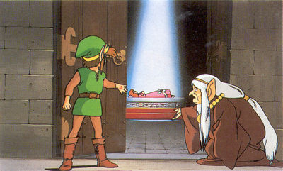 The Adventure of Link : Artwork