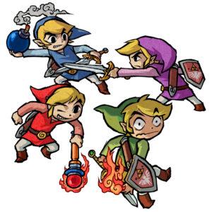 Four Swords Adventures : Artwork