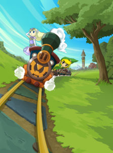 Spirit Tracks : Artwork