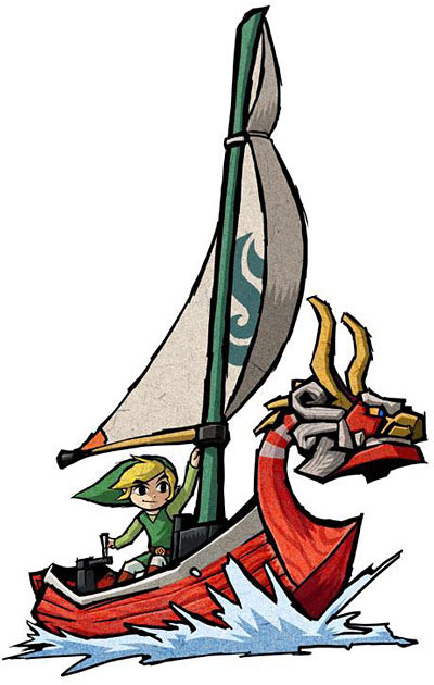 The Wind Waker : Artwork