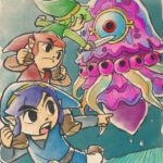 Tri Force Heroes : Artwork