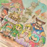 Tri Force Heroes : Artwork