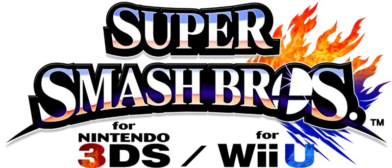 Super Smash Bros. for Nintendo 3DS/Wii U : Logo officiel