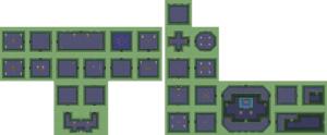 Ancient Stone Tablets: Carte du niveau 1 (Palais de l'Est)