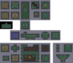 Ancient Stone Tablets: Carte du niveau 3