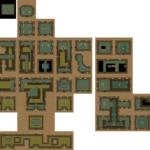 Ancient Stone Tablets: Carte du niveau 6 (Palais du Désert)