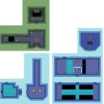 Ancient Stone Tablets: Carte du niveau 7 (Palais de Glace)