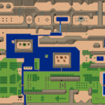 BS Zelda - Monde extérieur: carte 2