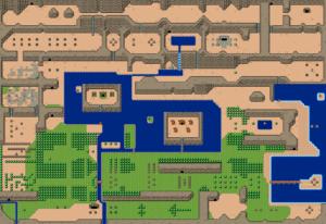 BS The Legend of Zelda : Monde extérieur: carte 2