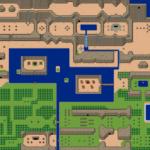 BS Zelda - Monde extérieur: carte 1