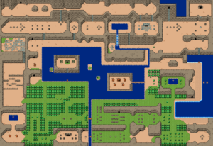 BS The Legend of Zelda : Monde extérieur: carte 1