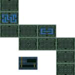 BS Zelda: carte du niveau 1 du monde 1