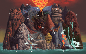 The Faces of Evil: Carte de Koridai