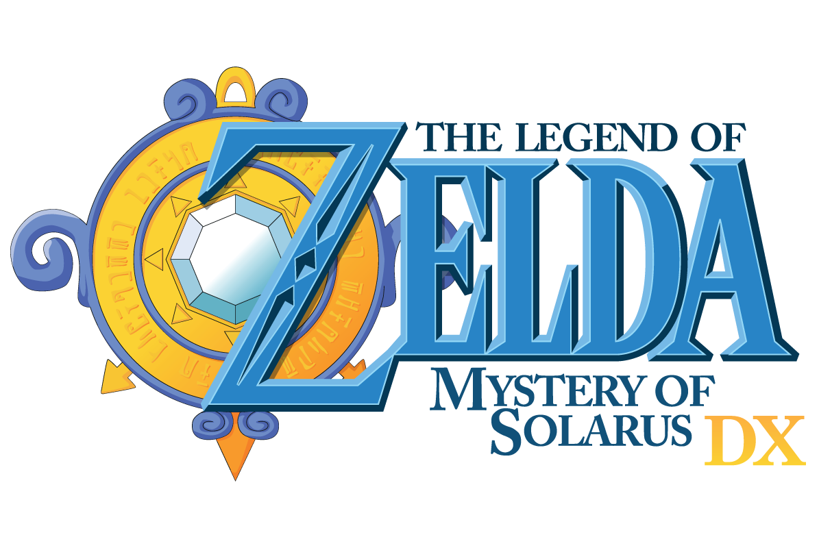 Mystery of Solarus DX : Logo officiel