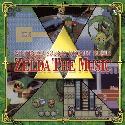 Produit dérivé – Bande originale - Zelda The Music
