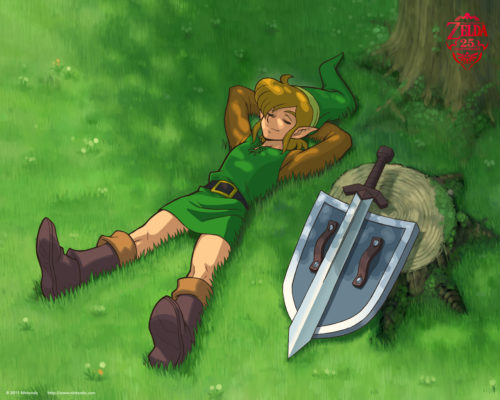 A Link to the Past : Fond d'écran