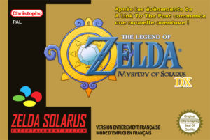 Mystery of Solarus : Jaquette
