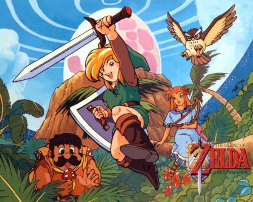Link's Awakening : Fond d'écran