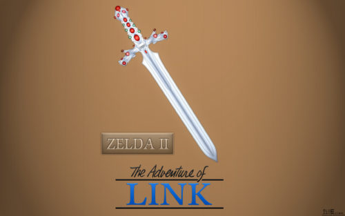 The Adventure of Link : Fond d'écran
