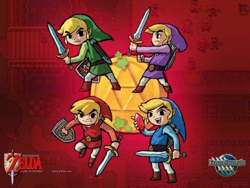 Four Swords : Fond d'écran
