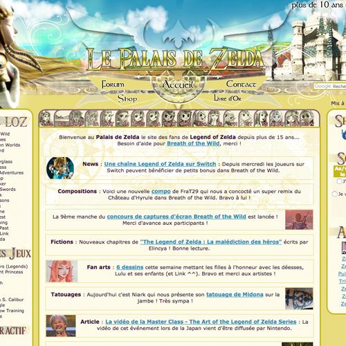 Partenaire : Le Palais de Zelda