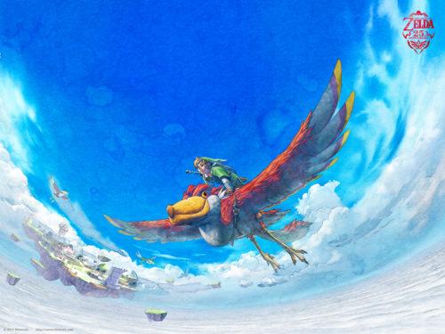 Skyward Sword : Fond d'écran