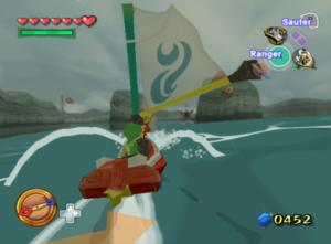 The Wind Waker : Solution - Missions secondaires de l'île de la Face Trois
