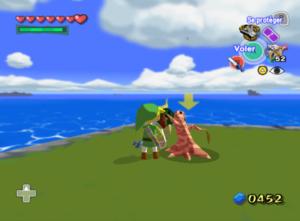 The Wind Waker : Solution - Missions secondaires de l'île de la Serrure de Pierre