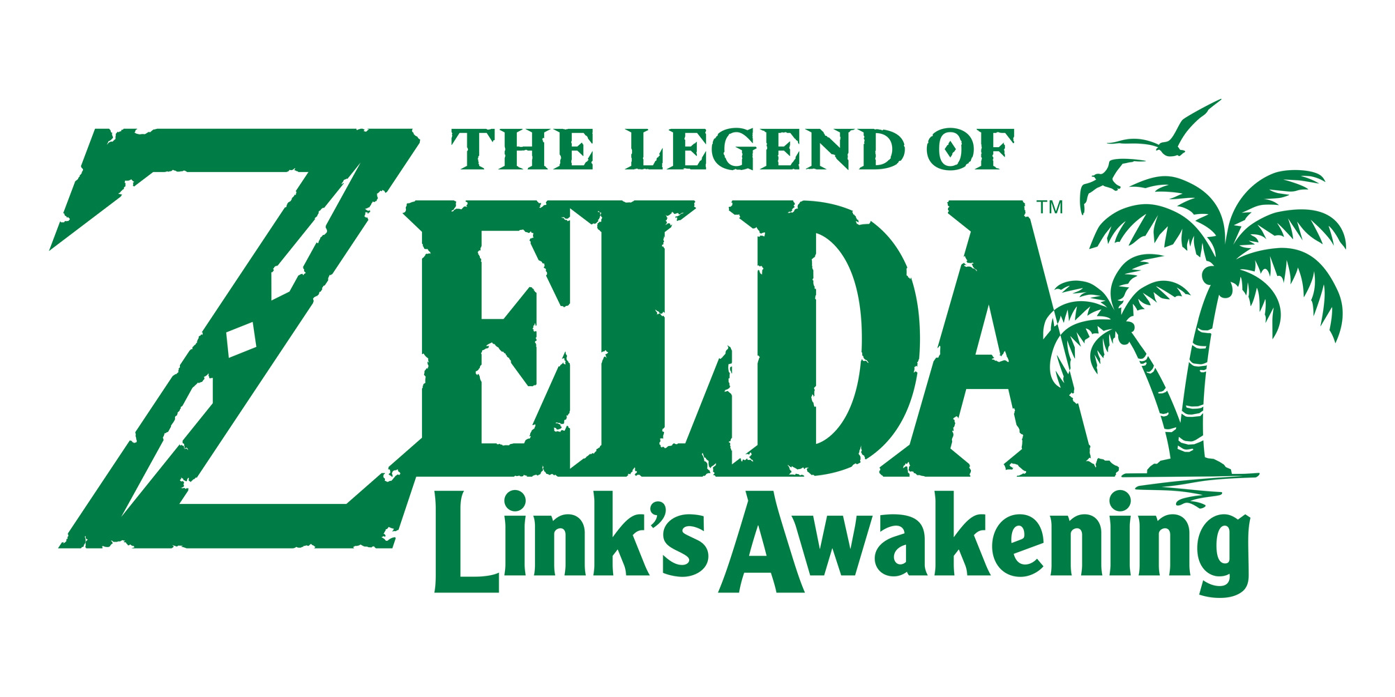 Link's Awakening : Logo officiel (Switch)