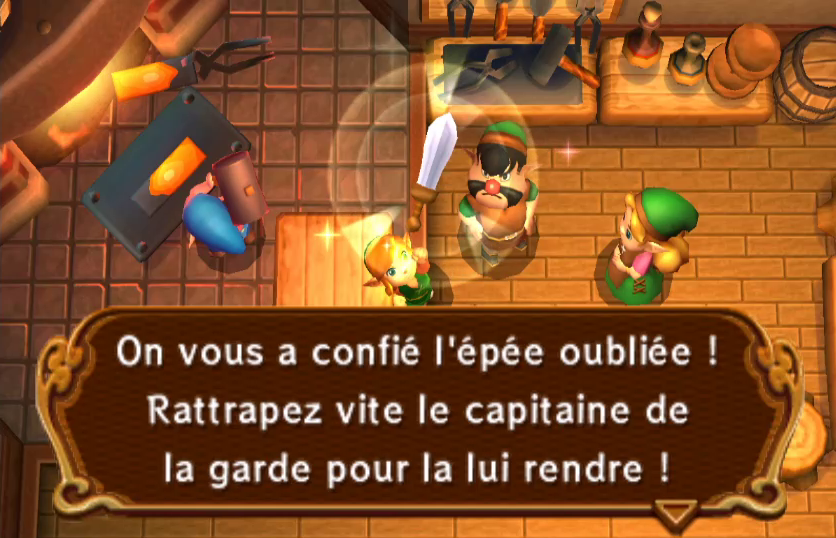 A Link Between Worlds : Solution - Partie 1