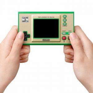 Sortie d'une console Game&Watch Zelda
